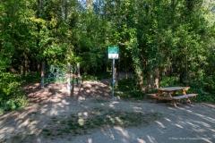 Eingang zum Au-Erlebnisweg