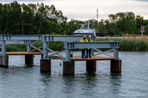 Errichtung Kuchelau Radwegbrücke