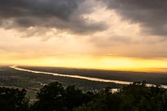 Sonnenuntergang Tempelbergwarte