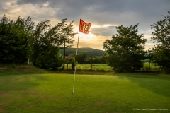 "Nr. 11: ""Hole in One"", Morgenstimmung am Golfplatz, 7. Juli 2019, 06:22h"