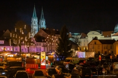 Adventmarkt Klosterneuburger Rathausplatz