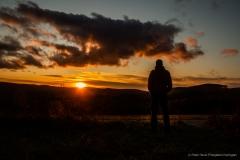Sonnenuntergang Weißer Hof