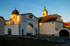 Schloss Judenau - erbaut im 16. Jahrhundert. Die Schlosskirche, ehemalige roßen Erdbeben 1590.