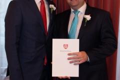 Bürgermeister Mag. Stefan Schmuckenschlager, WKO Obmann und Gemeinderat Markus Fuchs