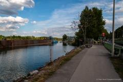 Pontonbrückenbau Kuchelau
