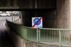 Fahrradstraße endet hier