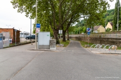 Radweg Kuchelau bei Kahlenbergerdorf