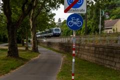 Radweg Kuchelau bei Kahlenbergerdorf, FJB