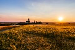 Sonnenuntergang Niederhollabrunn