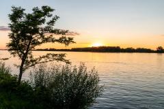 Muckendorf Sonnenuntergang