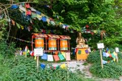 tibetanische Gebetsmühlen